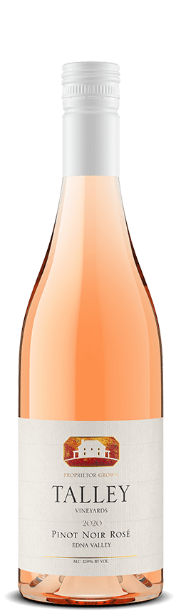 A bottle of 2020 Pinot Noir Rosé from the San Luis Obispo Coast.